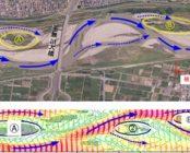 洪水による河川地形の変化を予測・制御する
